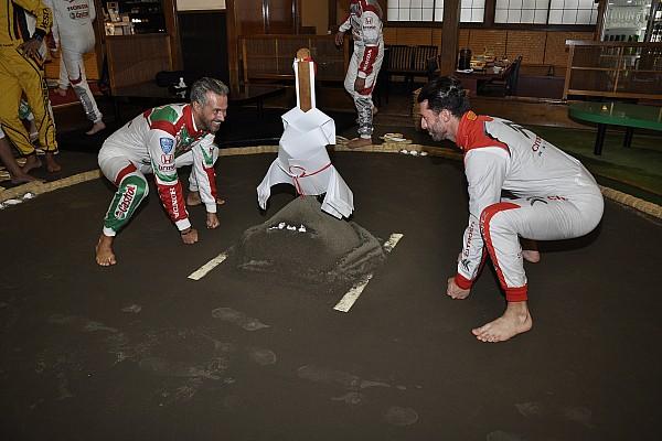 "WTCCドライバー、日本の国技""相撲""を語る"
