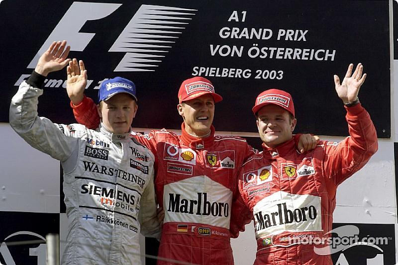Los grandes triunfadores de la historia de la F1 en Spielberg