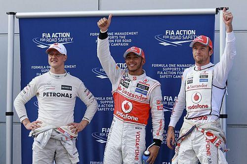 GALERÍA: Lewis Hamilton y sus 96 pole position