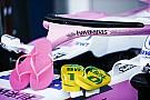 Ook Force India strikt teenslipperfabrikant als sponsor voor halo