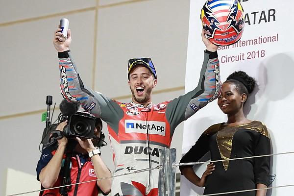 MotoGP Yarış raporu MotoGP Katar: Marquez son darbeyi vuramadı, 0.027 sn fark ile Dovizioso kazandı!