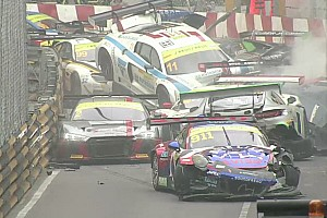 GT News Video: Der Massencrash beim GT-Weltcup in Macao