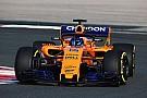 Alonso jajal McLaren MCL33 pada sesi shakedown