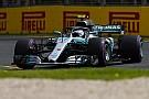 Formule 1 Bottas in achterhoede op startgrid door wissel versnellingsbak