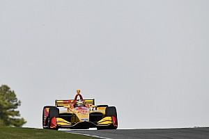 IndyCar Noticias Hunter-Reay terminó contento, pero le urge sumar victorias