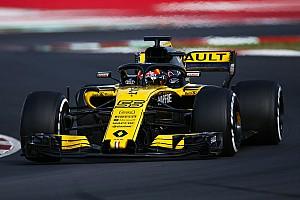 Formule 1 Réactions Renault termine des tests