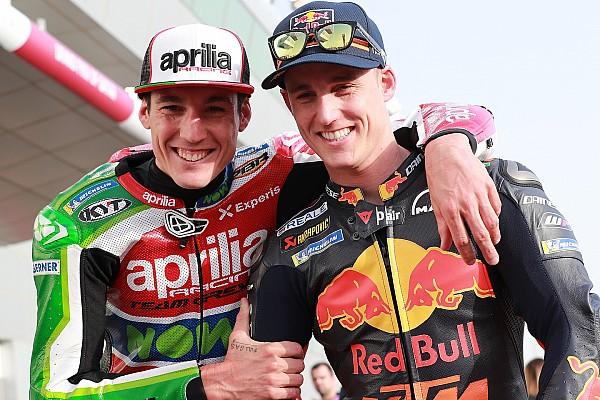 Duel melawan Aleix, Pol: Seperti pembalap lain