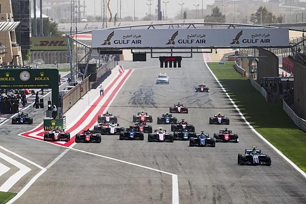 FIA F2 Actualités Le départ, un