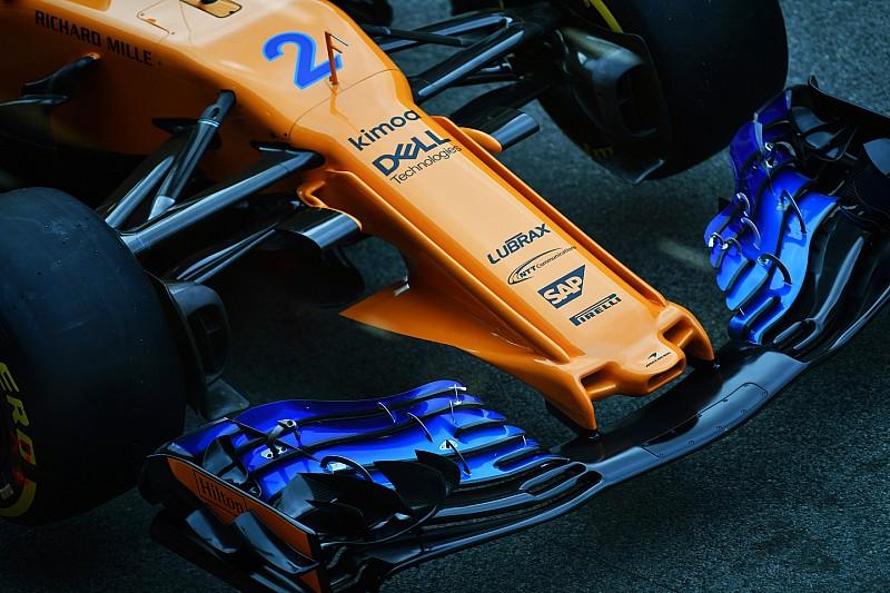 Formel-1-Technik: Detailfotos beim GP Spanien in Barcelona