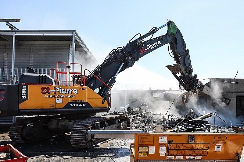 Renovatie F1-circuit Montreal gestart met afbreken pitgebouw