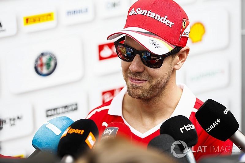 Vettel foca vice e condena mudanças de zebras de Interlagos