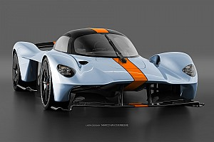 In beeld: De Aston Martin Valkyrie in talrijke kleurenschema's