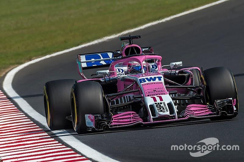 Force India mogelijk in Spa al actief onder nieuwe naam