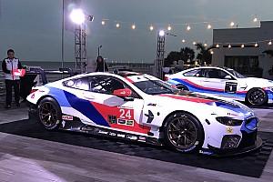 IMSA Son dakika 2018 BMW M8 GTE'nin renk düzeni tanıtıldı