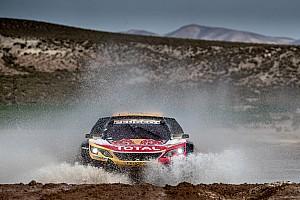 Dakar Breaking news Peterhansel concedes Dakar victory hopes to Sainz