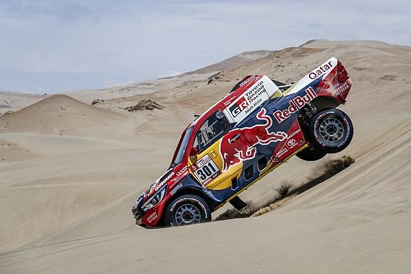 Dakar Reaktion Toyota verpasst Dakar-Sieg knapp: