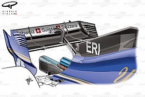 Formel 1 Fotostrecke Formel-1-Technik: Entwicklung des Sauber C36 in der Saison 2017