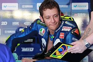 MotoGP Breaking news Rossi signs new two-year Yamaha MotoGP deal