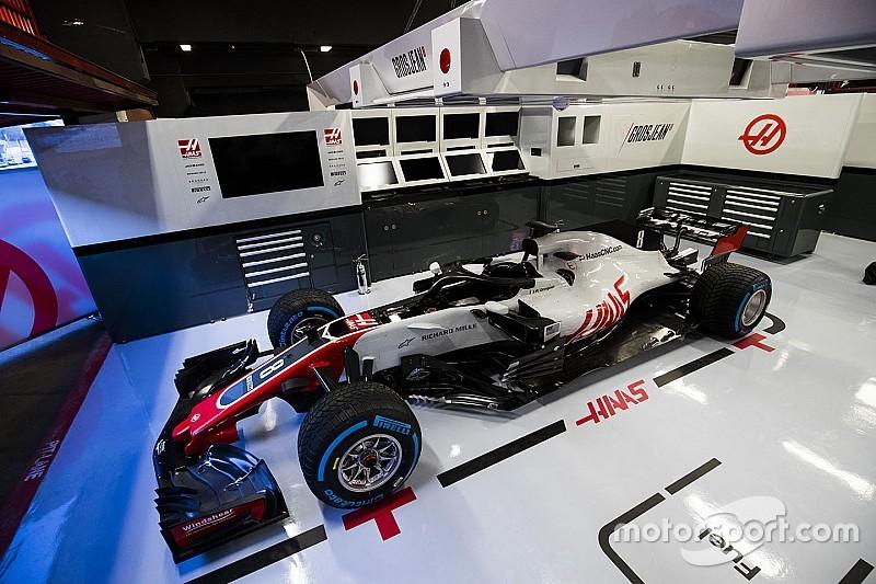 Haas провела формальную презентацию новой машины