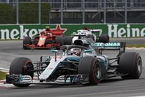 Formule 1 Actualités Mercedes: Les moteurs de Montréal étaient utilisés à plein