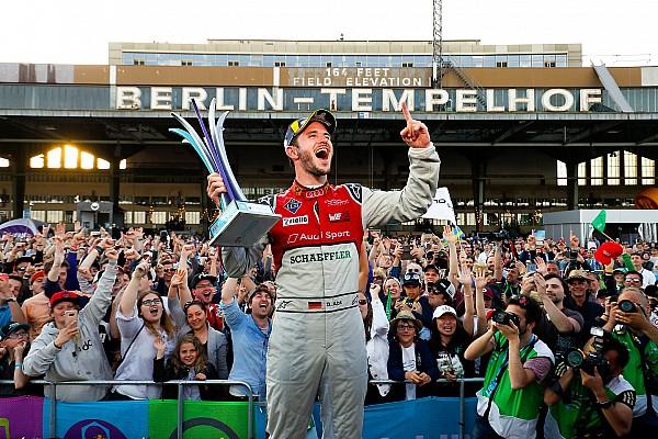 电动方程式 比赛报告 柏林ePrix:埃布主导奥迪包揽前二名,维尔恩扩大领先优势