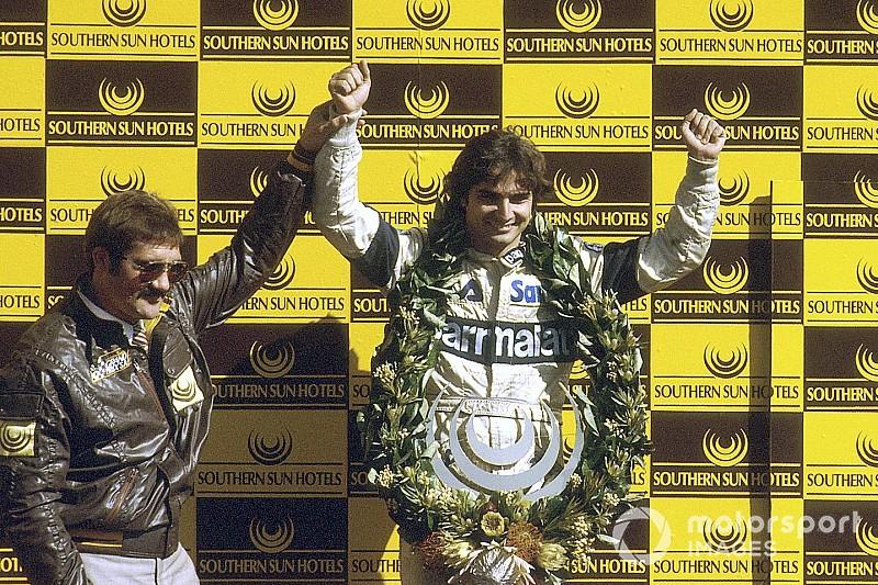 Se cumplen 35 años del bicampeonato de Nelson Piquet