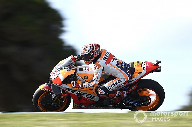 Гран Прі Австралії: попри аварію Маркес став найкращим у третій практиці