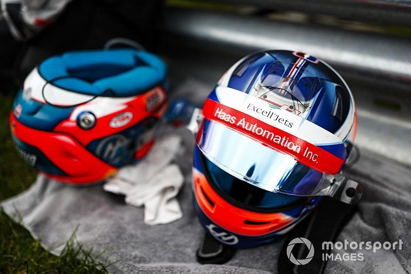 Grosjean 2019-es F1-es sisakja: pompás lett