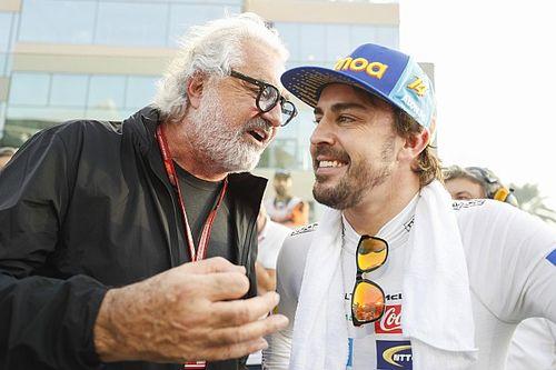 """Briatore: """"Alonso es la noticia, a nuevos casi no se los conoce"""""""