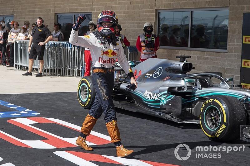Duell an Verstappens Schicksalkurve: Hamilton lässt Platz und fliegt ab