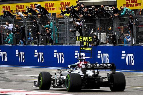 Hamilton zar a Sochi: 100esima vittoria, ma Verstappen è secondo!