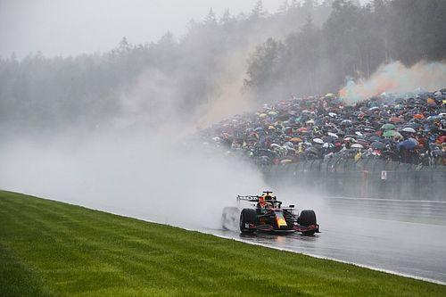 F1 Grand Prix race results: Verstappen wins rain-ruined Belgian GP