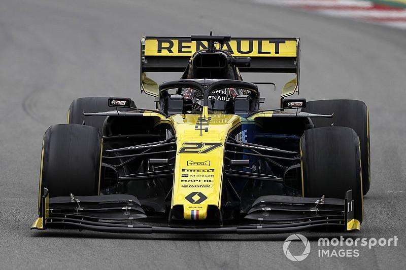 "Hulkenberg: New F1 rear wing feels like ""parachute"""