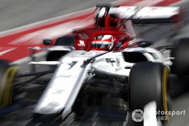 Az eddigi legmenőbb felvétel Räikkönen alfa romeós köréről: videó