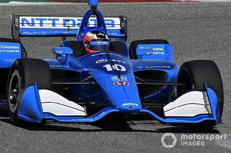 St. Petersburg IndyCar: Rosenqvist leads opening practice