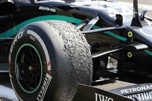 """Mercedes passou por """"pior versão possível"""" dos problemas de pneus em Silverstone"""
