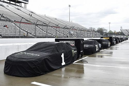 Rain postpones NASCAR Martinsville race until Sunday
