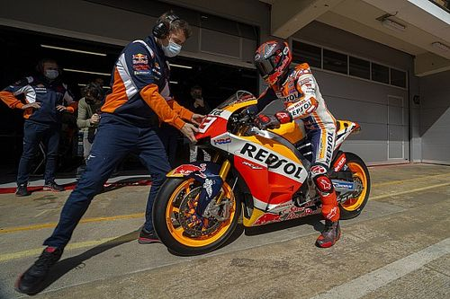 "Honda ""not in the best situation"" with MotoGP bike – Marquez"