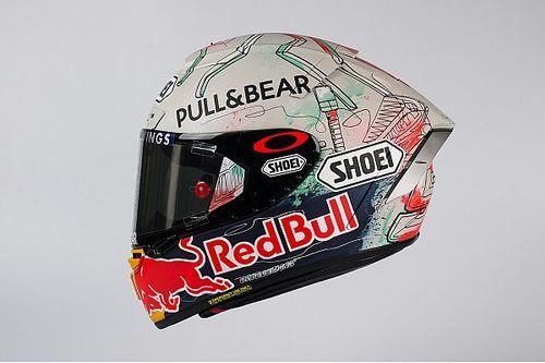 Márquez dévoile son casque spécial pour le GP de Catalogne