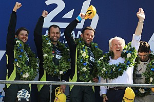 Le Mans Noticias de última hora Aston Martin apostó en la vuelta final por