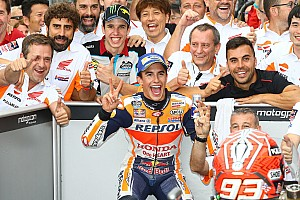 MotoGP Últimas notícias Após vencer, Márquez reconhece risco em troca: