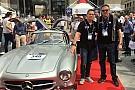 Vintage Mille Miglia: Chinchero con Maylander sulla Mercedes 300 SL ufficiale!