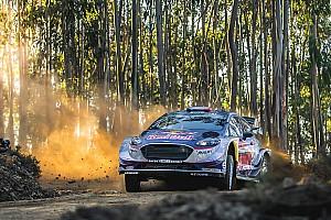 WRC Отчет о секции Тянак повредил машину и уступил Ожье лидерство в Португалии