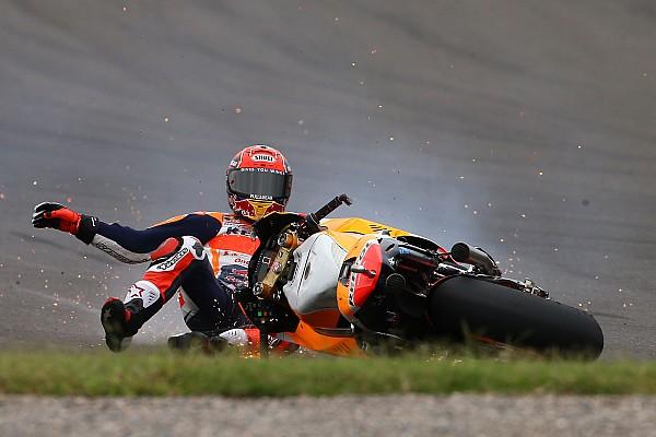 MotoGP Márquez não consegue explicar acidente na Argentina