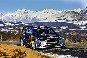 WRC Stage report Monte Carlo WRC: Ogier and M-Sport top shakedown