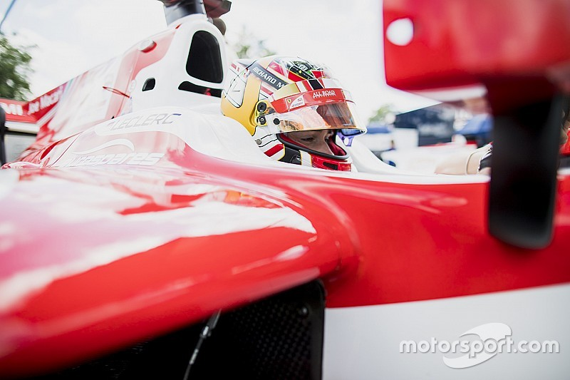 F2: Leclerc sobra e marca nova pole em Spa; Câmara é 11º