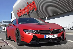 Automotive Breaking news  AC Schnitzer-tuned BMW i8 laps Nurburgring in 8:19