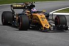 Palmer letört első szárnya a Verstappen-affér után