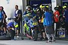 """Rossi admite que """"es para preocuparse"""" la actual situación de la Yamaha"""