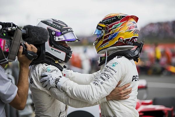 Forma-1 BRÉKING Még a Mercedest is meglepte a Hamilton és Bottas közötti harmónia